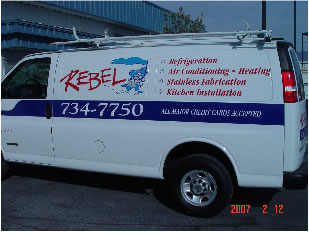 van lettering and graphics